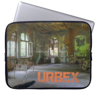 Hospital Beelitz 02, Lost Places, URBEX Laptop Sleeve