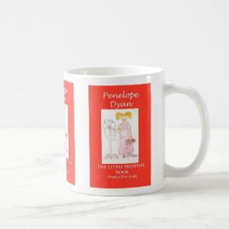 hospital book mug