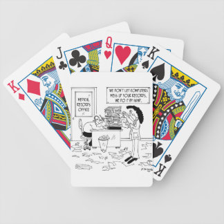 Hospital Cartoon 7117 Bicycle Playing Cards