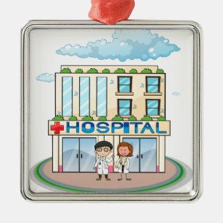 Hospital Metal Ornament