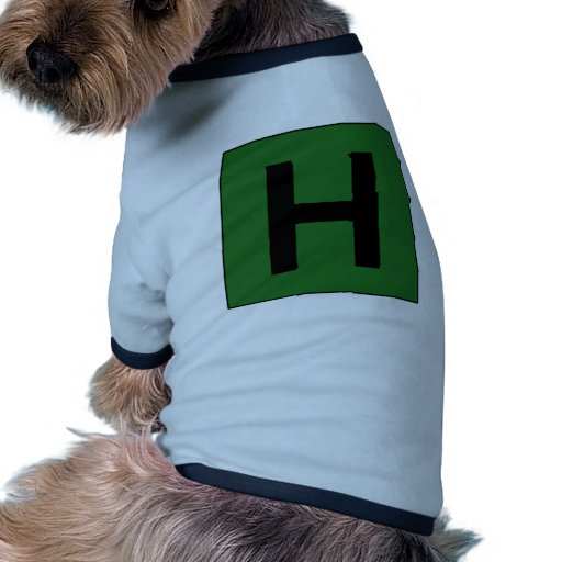 Hospital Sign Road Symbol Medical Doctor Pet Tee Shirt