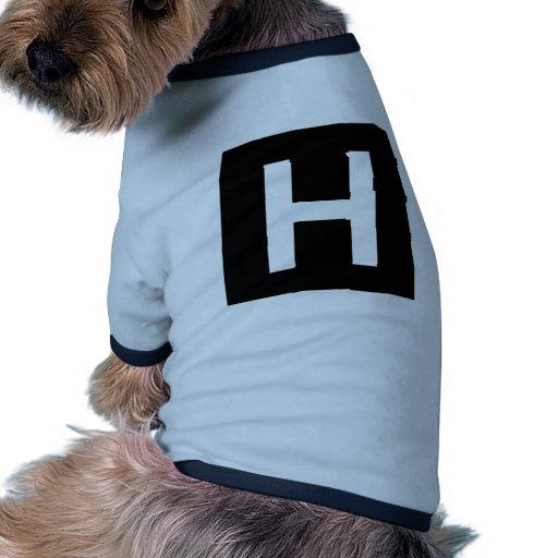 Hospital Sign Road Symbol Medical Doctor Dog Tee Shirt