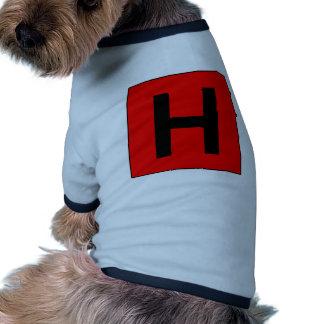 Hospital Sign Road Symbol Medical Doctor Pet T-shirt