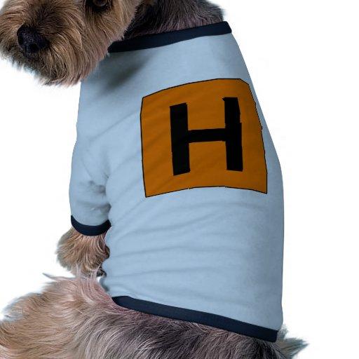 Hospital Sign Road Symbol Medical Doctor Doggie T Shirt