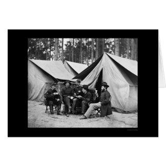 Hospital Stewards at Petersburg, VA 1864 Card