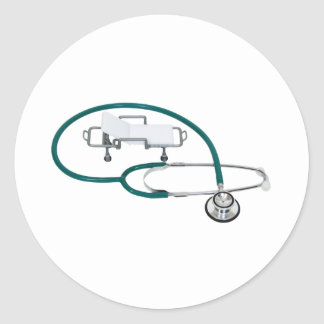 HospitalCare030609 copy Classic Round Sticker