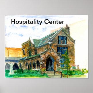 Hospitality Center Poster