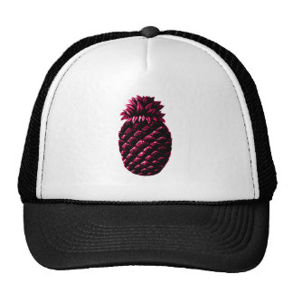 Hospitality Pineapple PURPLE The MUSEUM Zazzle Trucker Hat