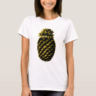 Hospitality Pineapple Yellow The MUSEUM Zazzle Gif T-Shirt