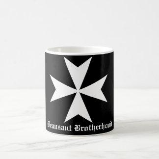 Hospitaller Beausant Brotherhood Black Mug