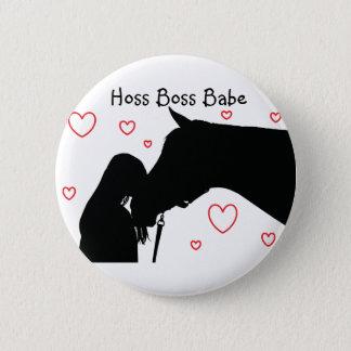 Hoss Boss Babe pin