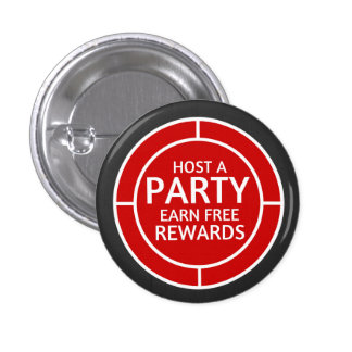 Host a party, earn free rewards. Direct Sales 1 Inch Round Button
