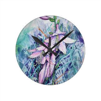 Hosta in bloom clock