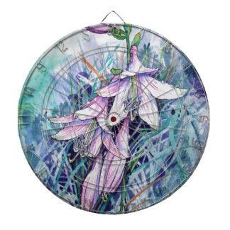 Hosta in bloom dartboard