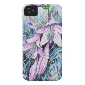 Hosta in bloom iPhone 4 Case-Mate case