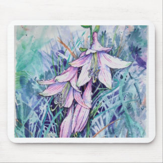 Hosta in bloom mouse pad