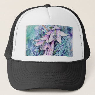 Hosta in bloom trucker hat