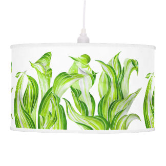 'Hosta with the Mosta' on a Pendant Lamp