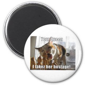 Hostage Queen 2 Inch Round Magnet