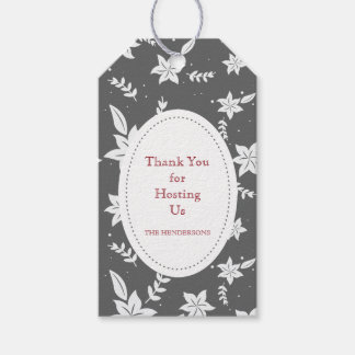 Hostess Thank You Gift Tags Pack Of Gift Tags
