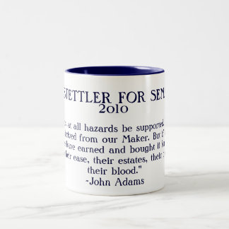 Hostettler for Senate Historical Quote Mug