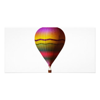 Hot Air Balloon 3 Custom Photo Card