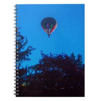 Hot Air Balloon 3 Notebooks