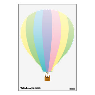 Hot Air Balloon 3 Wall Sticker