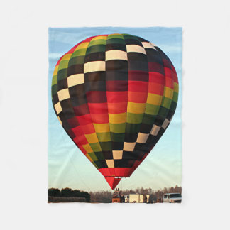 Hot Air Balloon 5 Fleece Blanket