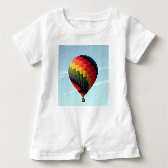 Hot air balloon aloft baby romper