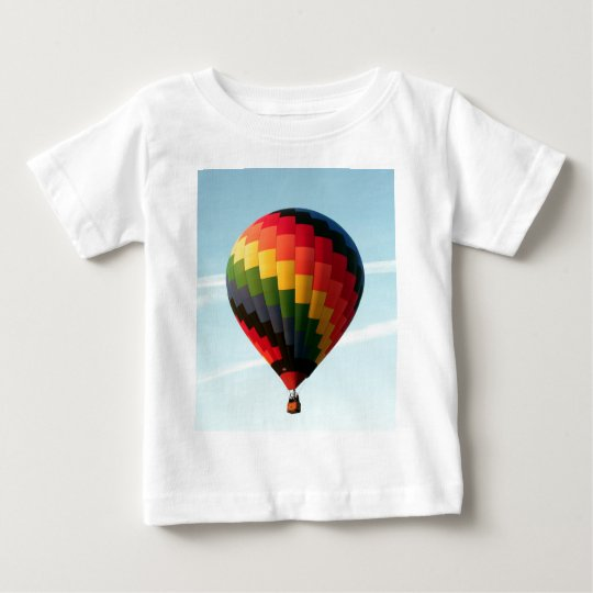Hot air balloon aloft baby T-Shirt
