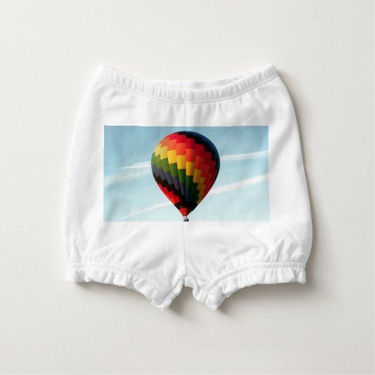 Hot air balloon aloft diaper cover