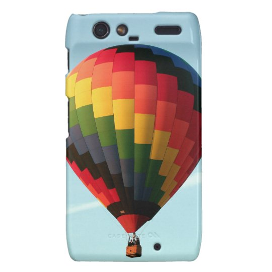 Hot air balloon aloft droid RAZR cases