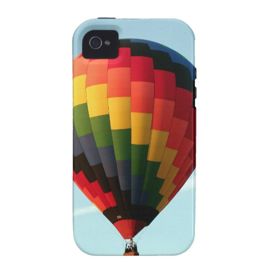 Hot air balloon aloft iPhone 4/4S case