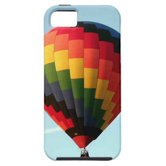 Hot air balloon aloft iPhone 5 cover