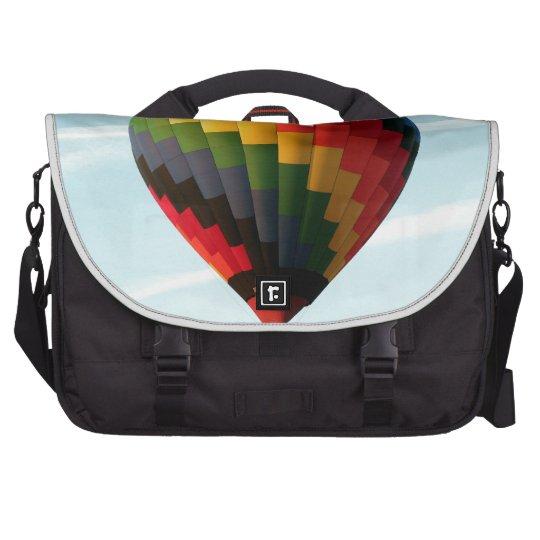 Hot air balloon aloft laptop commuter bag