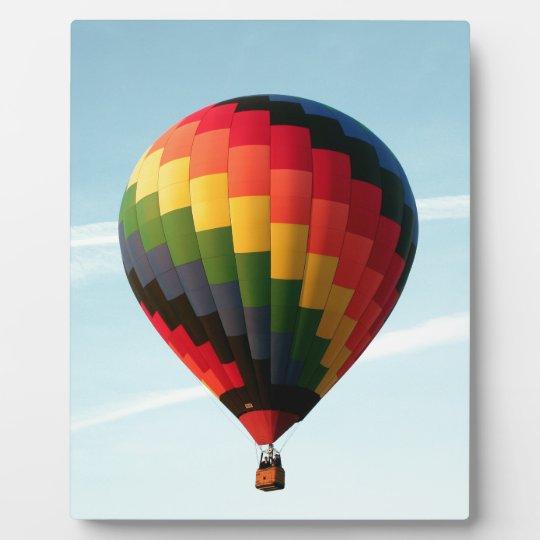 Hot air balloon aloft plaques