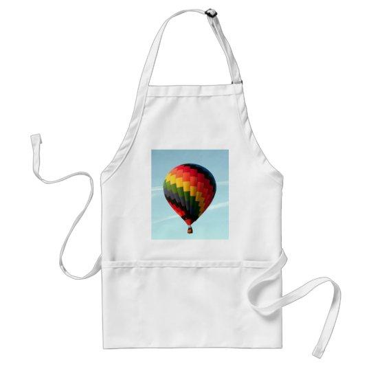 Hot air balloon aloft standard apron