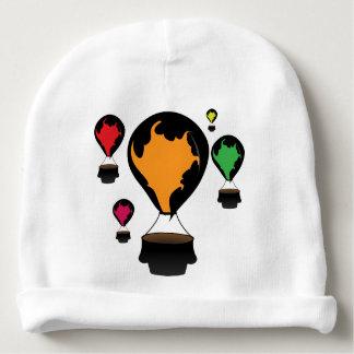 Hot air balloon baby beanie