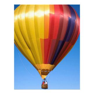 Hot Air Balloon Ballooning Sport Travel Letterhead