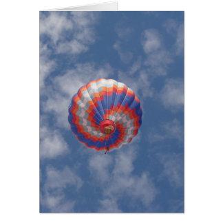 Hot Air Balloon Card