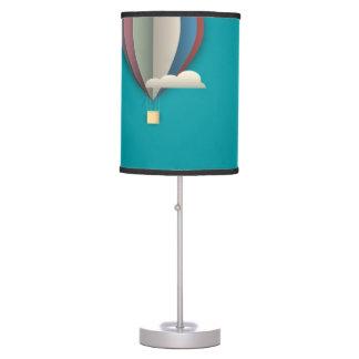 Hot Air Balloon Cityscape Table Lamp