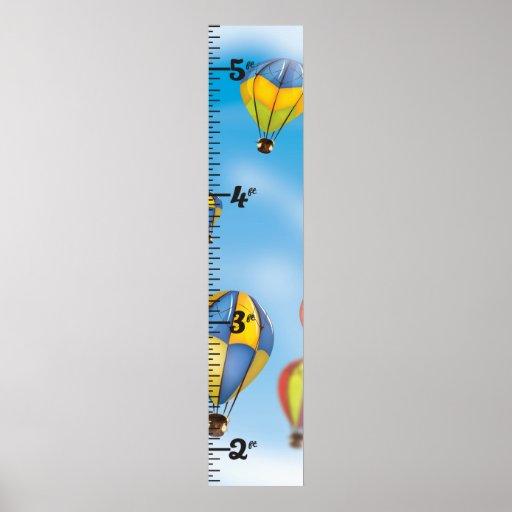 hot air balloon Clear Growth Chart