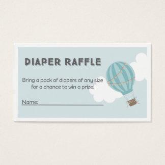 Hot Air Balloon Diaper Raffle Tickets