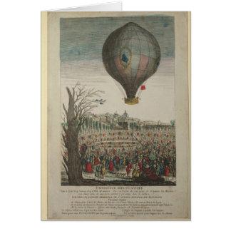 Hot-Air Balloon Experiment Card