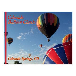 Hot Air Balloon Festival II Postcard