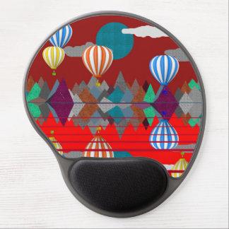 Hot Air Balloon Gel Mouse Pad