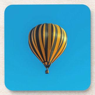 Hot air balloon hard plastic coasters