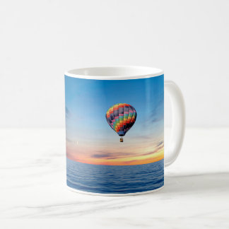 Hot Air Balloon image for  Classic White Mug