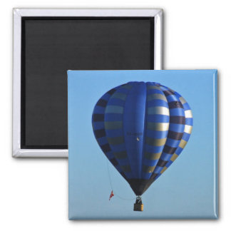 Hot air balloon in flight magnet